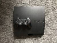 PS3 Slim   14 games   one controller
