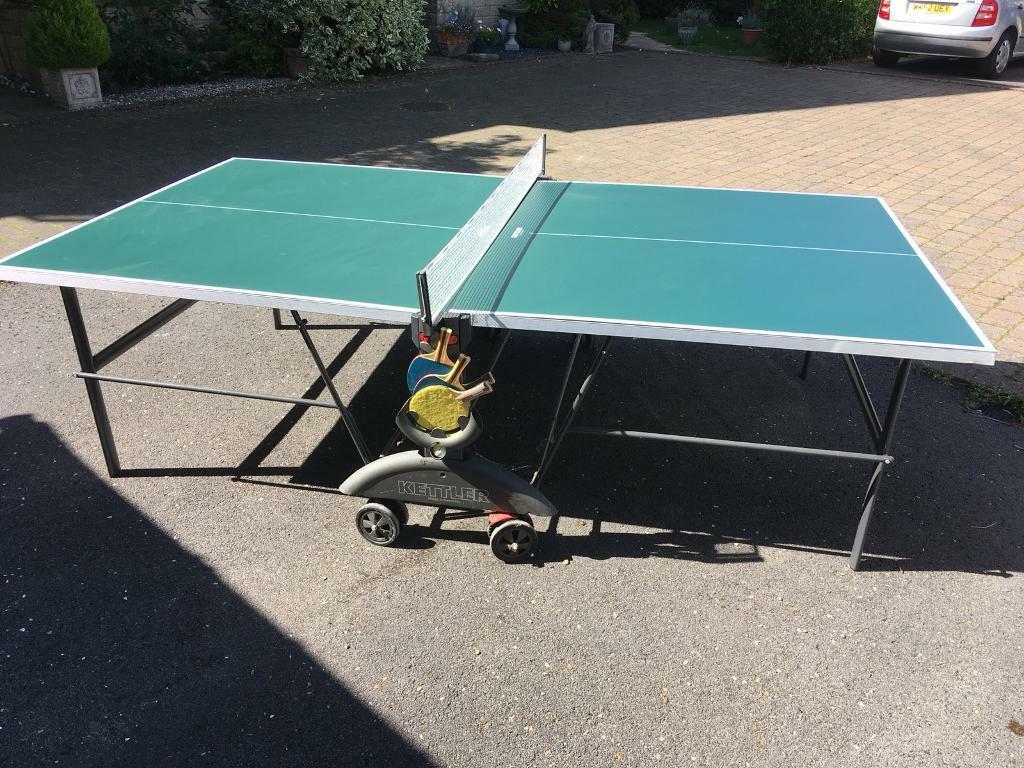 Full size indoor table tennis incl 4 bats and 4 balls in witney oxfordshire gumtree - Gumtree table tennis table ...