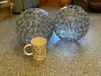 2 x IKEA metal light shades in IMMACULATE CLEAN CONDITION REDUCED PRICE THANKS 😊