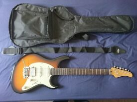 Cort G250 electric guitar as new. RRP £249