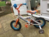 Halfords Disney planes toddler bike. Well used but sturdy enough for another couple of children.