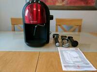 Red Morphy Richards Accents Espresso Coffee Machine