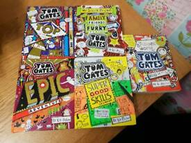 5 x tom gates books similar to diary of a wimpy kid