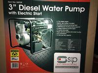 """SIP 04939 Trade 3"""" Water Pump Diesel Driven RRP £699"""