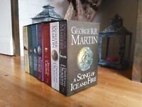 A Song of Ice and Fire - George R.R. Martin :: 7 book collection :: Pick-up only