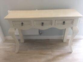 Shabby Chic hallway table/desk
