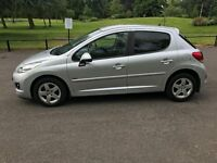 2012 Peugeot 207 Sportium Top Spec Fully Loaded Genuine Cheap car bargain look