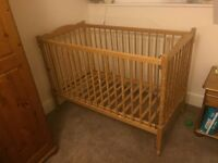 Baby cot to go ASAP