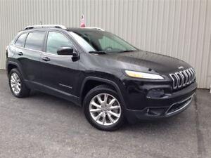 2014 Jeep Cherokee Limited +4x4, Navigation+