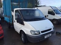 FORD TRANSIT CAGE TIPPER , 56REG FOR SALE