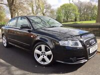 """AUDI A4 2.0 TDi S LINE 170 SPECIAL EDITION••2 TONE LEATHER INTERIOR••BOSE SOUND SYSTEM••18"""" ALLOYS"""