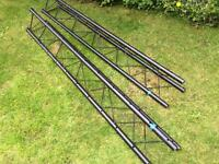 Tri Truss disco lighting, band, lighting trussing 2x 2m