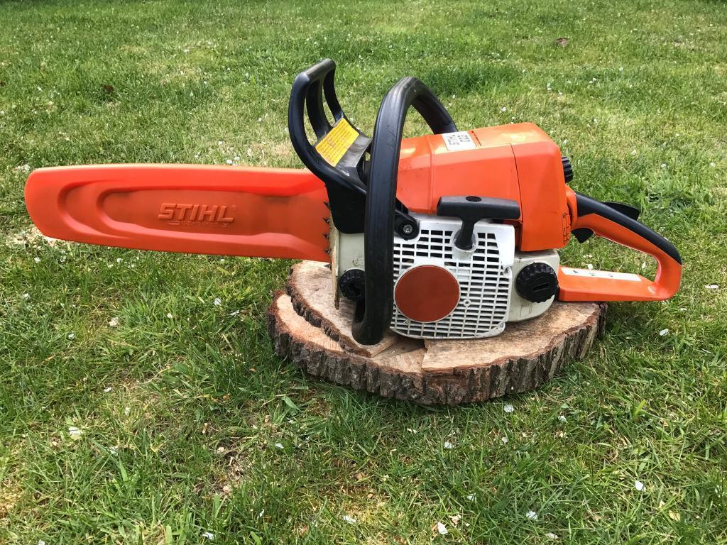 how to change a chain on a stihl chainsaw
