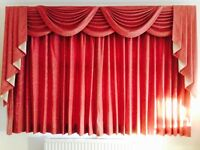 Curtain with Swags and Tails - Lined