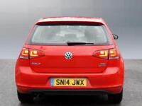 Volkswagen Golf SE TSI BLUEMOTION TECHNOLOGY DSG (red) 2014-03-03