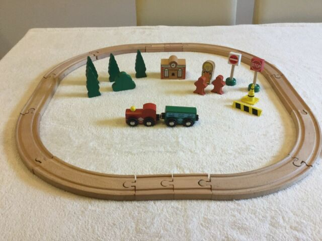 Small Brio Wooden Train Set With Accessories Carrying Case In Lancaster Lancashire Gumtree