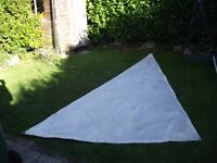 Sailing Dinghy main sail ideal for a project