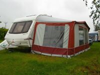 Caravan awning (Eurovent) with sleeping annex