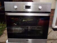 beko single oven 120pounds