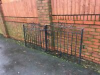 Set Of Well Built Galvanised Driveway Gates ( Can Deliver ) ring malc