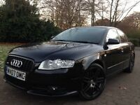 Rare 2007 Audi A4 2.0 TDI S Line special edition 170 Bhp Quattro top of the range