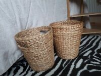 New baskets, never used. 3 each or 5 for both