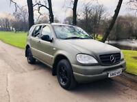 1998 MERCEDES ML 320 3.2 AUTO 4x4 7 SEATER