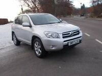 2008 57 TOYOTA RAV 4 2.2 D4D XTR 5 DOOR 4X4 MOT DECEMBER 2017