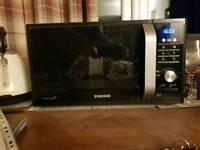 Samsung ceramic inside microwave