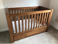 VIB Cot Bed and Chest of Drawers
