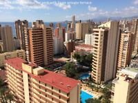 Spain, BENIDORM, Penthouse for holiday with large private terrace