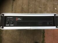 Thomann T-amp E400 amp with case
