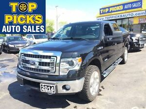 2014 Ford F-150 XTR CREW CAB, LEATHER, ECO, 20'S !