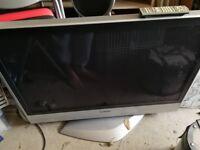 "42"" Panasonic plasma TV, HD ready, with remote"