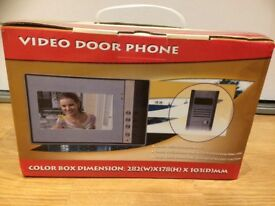 Video Door Entry Intercom with Night Vision and Auto-Record Function (New)
