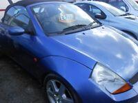 FORD KA Street Luxury Convertable, 1.6 Petrol, 93,000 miles, 3 Former Keepers, 2003-53 plate