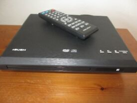 Bush compact DVD Player, with High-quality HDMI to DVI Cable lead - £12.00