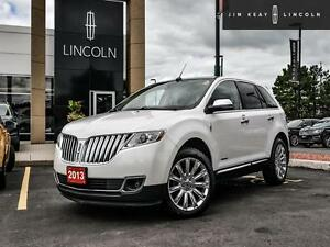2013 Lincoln MKX AWD*3.7L V6*SIGHT AND SOUND PKG*NAVIGATION*PANO