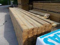Timber Decking 2.4m Long £4.00 per Length