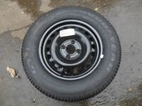 WHEEL AND GOODYEAR TYRE 185/70/14 TYRE IS BRAND NEW BIRTLEY AREA