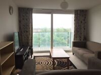 Modern Furnished 1 Bed Flat To Rent, Hounslow TW3, The Blenheim Centre, 3rd Floor, Rear Facing