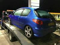 206 gti breaking all parts avaliable