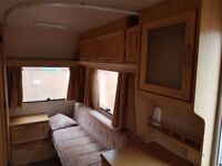Elddis birth caravan fairly good condition