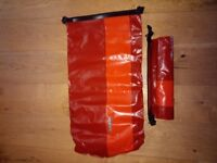 Ortlieb 35ltr dry bags x 2 all new