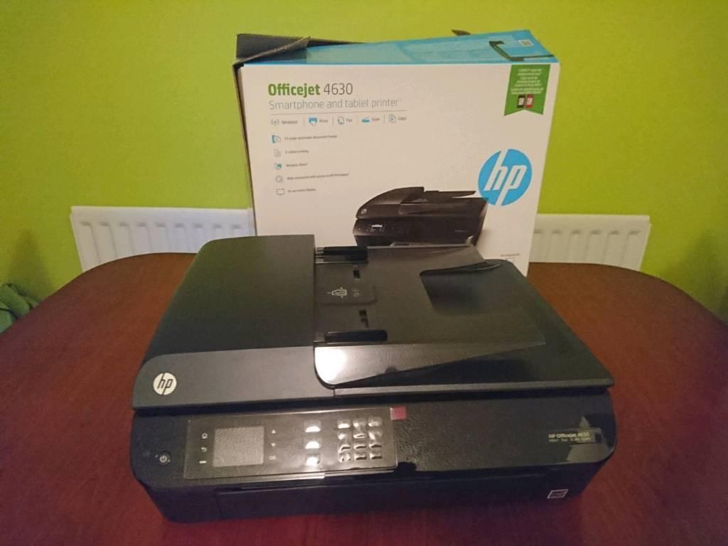 hp officejet 4630 print fax scan copy