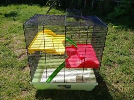 2 level hamster cage