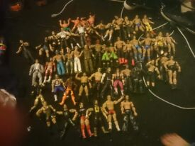 Wwe figures good condition will sell seperarely
