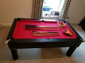 Massive pool table 190cm/113cm