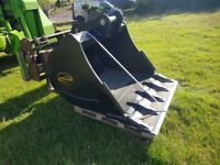 New Strickland Excavator Bucket 4 Foot or 48 inch - 13 Ton Excavator / Digger