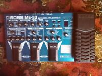 Boss ME-50 Guitar Multi Effects
